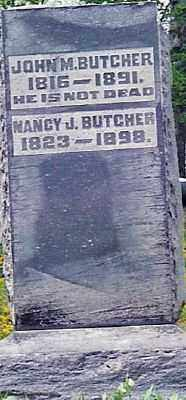 BUTCHER, NANCY J. - Champaign County, Ohio | NANCY J. BUTCHER - Ohio Gravestone Photos