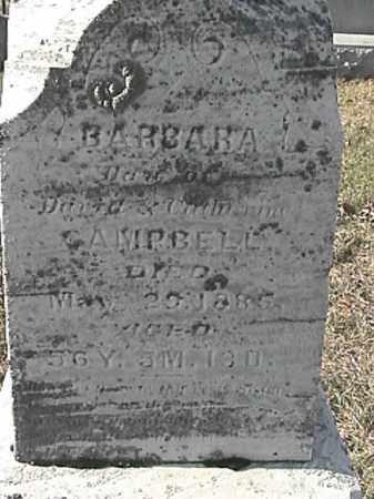 CAMPBELL, BARBARA - Champaign County, Ohio | BARBARA CAMPBELL - Ohio Gravestone Photos