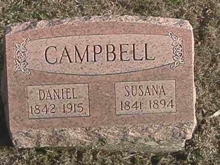 WATKINS CAMPBELL, SUSANA - Champaign County, Ohio | SUSANA WATKINS CAMPBELL - Ohio Gravestone Photos
