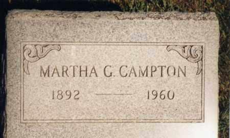 CAMPTON, MARTHA GERTRUDE DUNHAM - Champaign County, Ohio | MARTHA GERTRUDE DUNHAM CAMPTON - Ohio Gravestone Photos