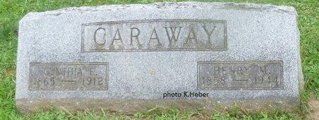CARAWAY, CYNTHIA ELIZABETH - Champaign County, Ohio | CYNTHIA ELIZABETH CARAWAY - Ohio Gravestone Photos