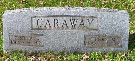 CARAWAY, CYNTHIA E. - Champaign County, Ohio | CYNTHIA E. CARAWAY - Ohio Gravestone Photos