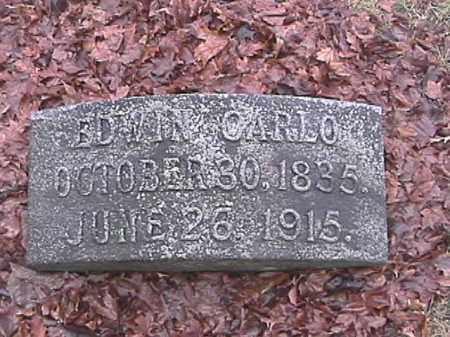CARLO, EDWIN - Champaign County, Ohio | EDWIN CARLO - Ohio Gravestone Photos
