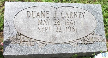 CARNEY, DUANE J - Champaign County, Ohio | DUANE J CARNEY - Ohio Gravestone Photos