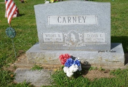 CARNEY, WILLIS - Champaign County, Ohio | WILLIS CARNEY - Ohio Gravestone Photos
