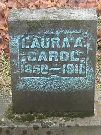 CAROL, LAURA A. - Champaign County, Ohio | LAURA A. CAROL - Ohio Gravestone Photos