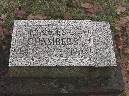 CHAMBERS, FRANCIS L. - Champaign County, Ohio | FRANCIS L. CHAMBERS - Ohio Gravestone Photos