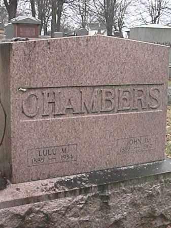 CHAMBERS, JOHN D. - Champaign County, Ohio | JOHN D. CHAMBERS - Ohio Gravestone Photos