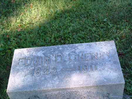 CHENEY, EDWIN DUVALL - Champaign County, Ohio | EDWIN DUVALL CHENEY - Ohio Gravestone Photos