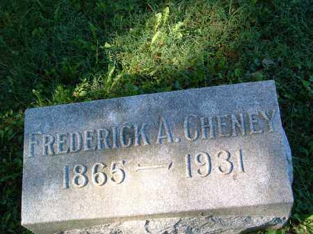 CHENEY, FREDERICK AMBROSE - Champaign County, Ohio | FREDERICK AMBROSE CHENEY - Ohio Gravestone Photos