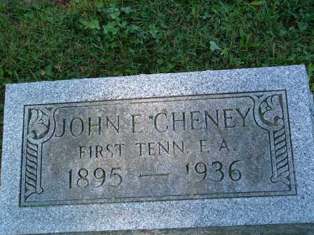 CHENEY, JOHN EDWARD - Champaign County, Ohio | JOHN EDWARD CHENEY - Ohio Gravestone Photos