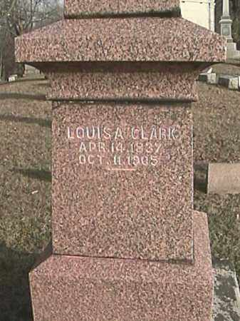 CLARK, LOUISA - Champaign County, Ohio | LOUISA CLARK - Ohio Gravestone Photos