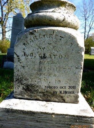 CLATON, MARGARET ANN - Champaign County, Ohio   MARGARET ANN CLATON - Ohio Gravestone Photos