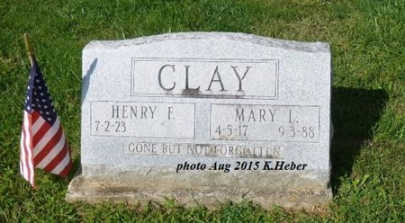 CLAY, MARY LUCILLE - Champaign County, Ohio | MARY LUCILLE CLAY - Ohio Gravestone Photos