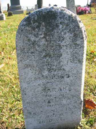 CLEMENTS, SARAH - Champaign County, Ohio | SARAH CLEMENTS - Ohio Gravestone Photos