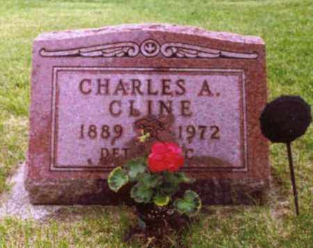 CLINE, CHARLES - Champaign County, Ohio | CHARLES CLINE - Ohio Gravestone Photos