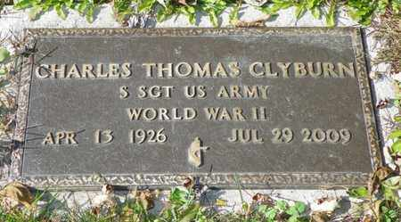 CLYBURN, CHARLES THOMAS - Champaign County, Ohio | CHARLES THOMAS CLYBURN - Ohio Gravestone Photos