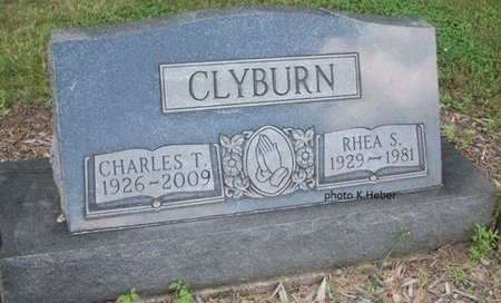 SMITH CLYBURN, RHEA S - Champaign County, Ohio | RHEA S SMITH CLYBURN - Ohio Gravestone Photos