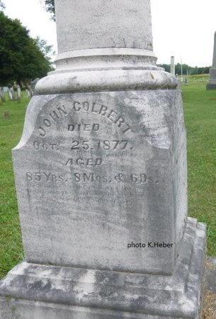 COLBERT, JOHN - Champaign County, Ohio | JOHN COLBERT - Ohio Gravestone Photos