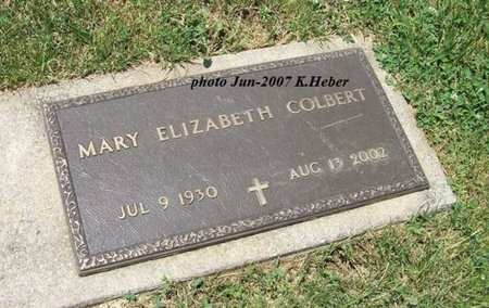 HIGGS COLBERT, MARY ELIZABETH - Champaign County, Ohio | MARY ELIZABETH HIGGS COLBERT - Ohio Gravestone Photos