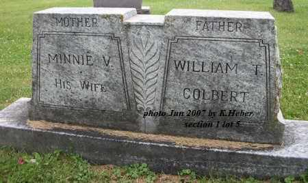 COLBERT, WILLIAM THOMAS - Champaign County, Ohio | WILLIAM THOMAS COLBERT - Ohio Gravestone Photos