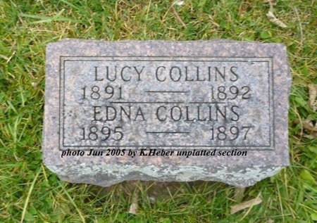 COLLINS, LUCY S - Champaign County, Ohio | LUCY S COLLINS - Ohio Gravestone Photos