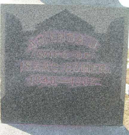 COMER, AMANDA J. - Champaign County, Ohio | AMANDA J. COMER - Ohio Gravestone Photos