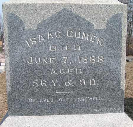 COMER, ISAAC - Champaign County, Ohio | ISAAC COMER - Ohio Gravestone Photos