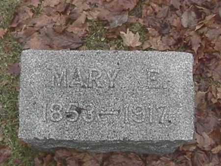 COMER, MARY ELIZABETH - Champaign County, Ohio | MARY ELIZABETH COMER - Ohio Gravestone Photos