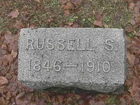 COMER, RUSSELL S. - Champaign County, Ohio | RUSSELL S. COMER - Ohio Gravestone Photos