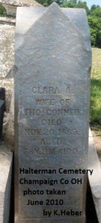 CONNER, CLARA ANN - Champaign County, Ohio | CLARA ANN CONNER - Ohio Gravestone Photos