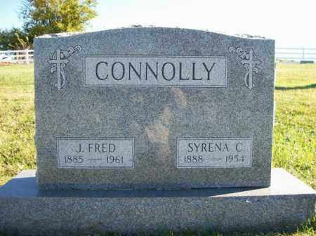 CONNOLLY, SYRENE C - Champaign County, Ohio | SYRENE C CONNOLLY - Ohio Gravestone Photos