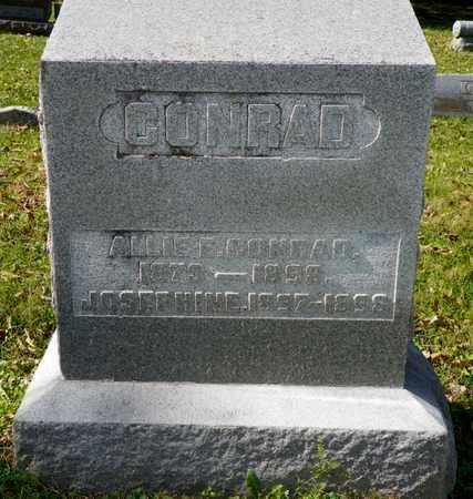 CONRAD, JOSEPHINE - Champaign County, Ohio | JOSEPHINE CONRAD - Ohio Gravestone Photos