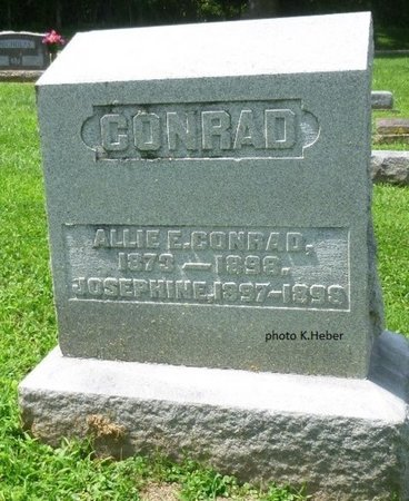 CONRAD, ALLIE EDITH - Champaign County, Ohio | ALLIE EDITH CONRAD - Ohio Gravestone Photos