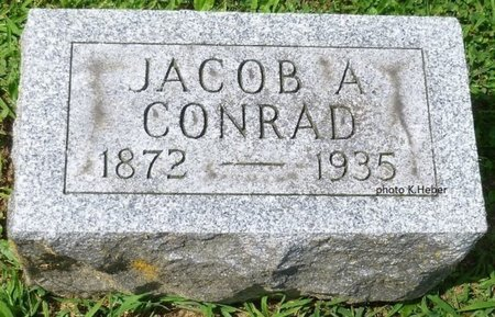 CONRAD, JACOB ANDREW - Champaign County, Ohio | JACOB ANDREW CONRAD - Ohio Gravestone Photos