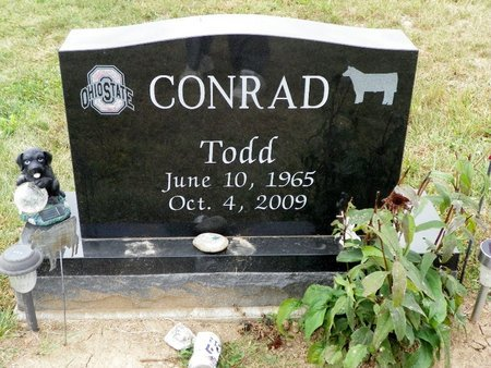 CONRAD, TODD - Champaign County, Ohio   TODD CONRAD - Ohio Gravestone Photos
