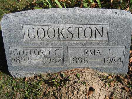 COOKSTON, CLIFFORD C. - Champaign County, Ohio | CLIFFORD C. COOKSTON - Ohio Gravestone Photos
