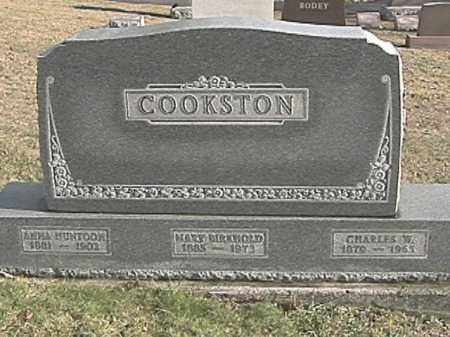 COOKSTON, ANNA HUNTOON - Champaign County, Ohio | ANNA HUNTOON COOKSTON - Ohio Gravestone Photos