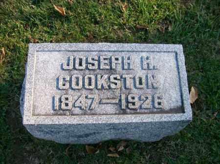 COOKSTON, JOSEPH H - Champaign County, Ohio | JOSEPH H COOKSTON - Ohio Gravestone Photos