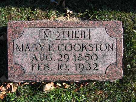 COOKSTON, MARY E. - Champaign County, Ohio | MARY E. COOKSTON - Ohio Gravestone Photos