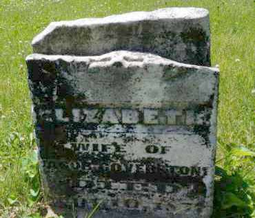 COVERSTONE, ELIZABETH - Champaign County, Ohio | ELIZABETH COVERSTONE - Ohio Gravestone Photos