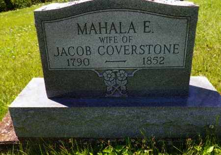 COVERSTONE, MAHALA E. - Champaign County, Ohio | MAHALA E. COVERSTONE - Ohio Gravestone Photos