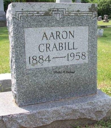 CRABILL, AARON OTIS - Champaign County, Ohio | AARON OTIS CRABILL - Ohio Gravestone Photos