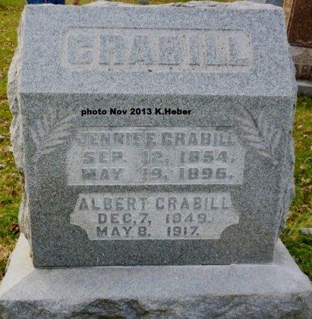 CRABILL, ALBERT ALLEN - Champaign County, Ohio | ALBERT ALLEN CRABILL - Ohio Gravestone Photos