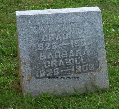 CRABILL, BARBARA - Champaign County, Ohio | BARBARA CRABILL - Ohio Gravestone Photos