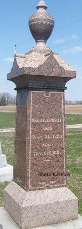 CRABILL, BENJAMIN KELLER - Champaign County, Ohio | BENJAMIN KELLER CRABILL - Ohio Gravestone Photos