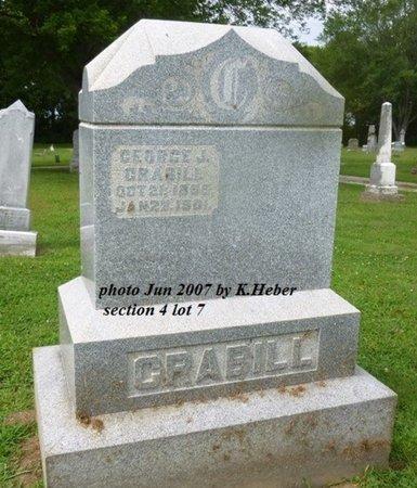 CRABILL, GEORGE J - Champaign County, Ohio | GEORGE J CRABILL - Ohio Gravestone Photos