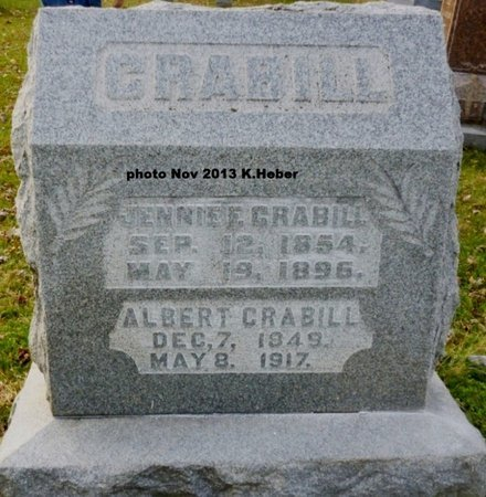 LONG CRABILL, VIRGINIA FLORENCE - Champaign County, Ohio | VIRGINIA FLORENCE LONG CRABILL - Ohio Gravestone Photos
