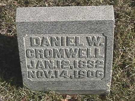 CROMWELL, DANIEL W. - Champaign County, Ohio | DANIEL W. CROMWELL - Ohio Gravestone Photos