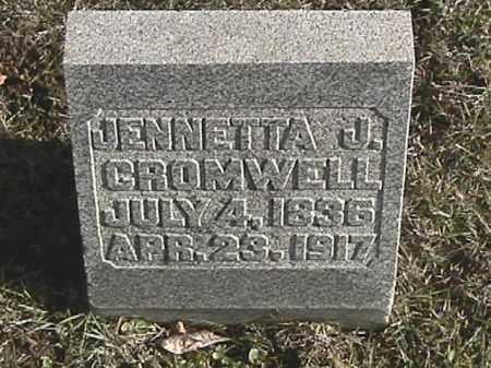 CROMWELL, JENNETTA J. - Champaign County, Ohio | JENNETTA J. CROMWELL - Ohio Gravestone Photos